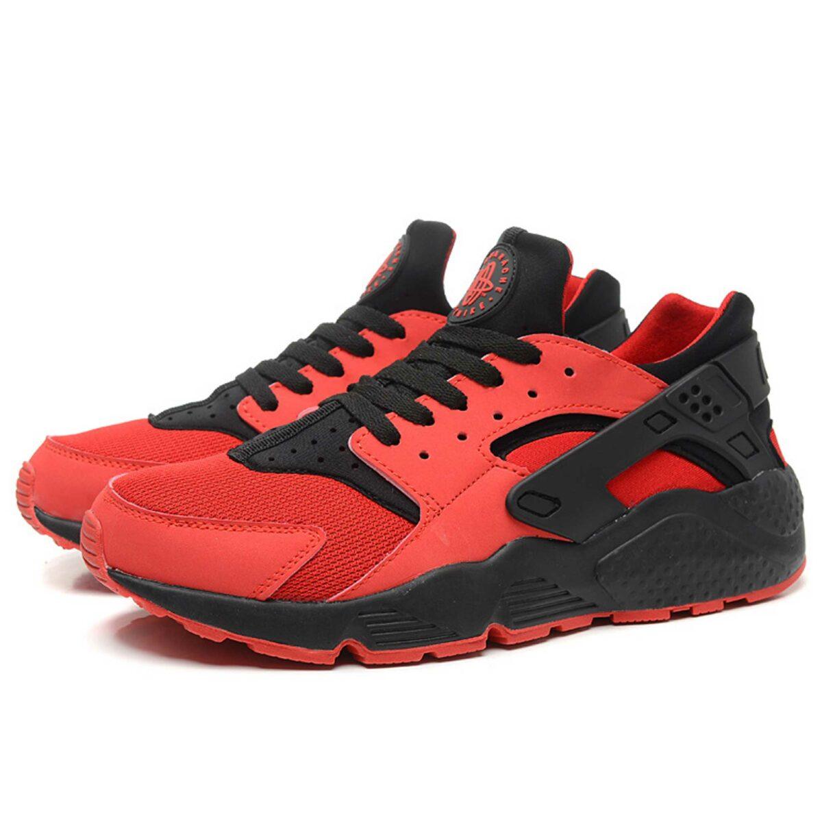 Интернет магазин купить оригинальные Nike Air Huarache University Red Black