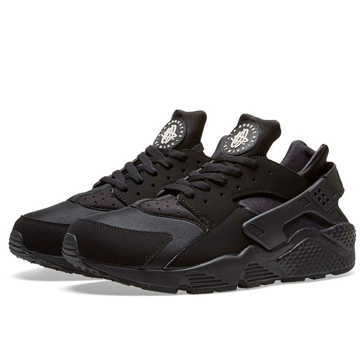nike air huarache all black 318429_003 купить
