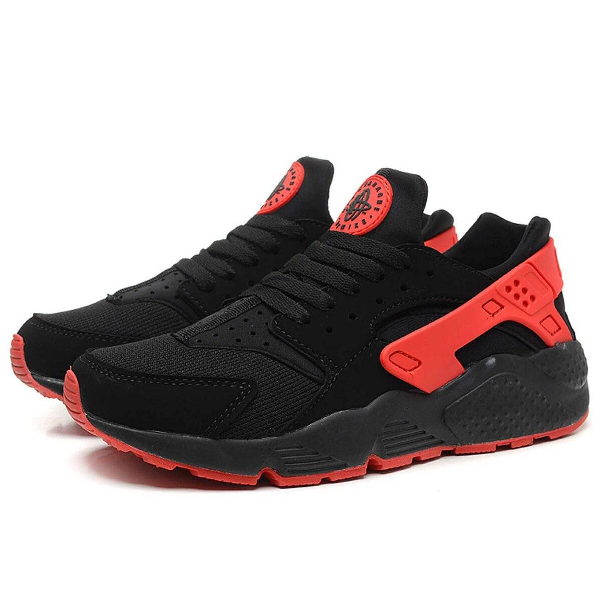 nike huarache love hate men black university red 700878_006 купить