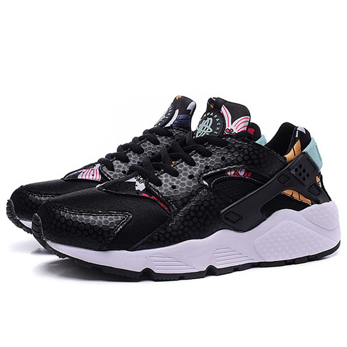 nike air huarache black artisan 725076_001 купить