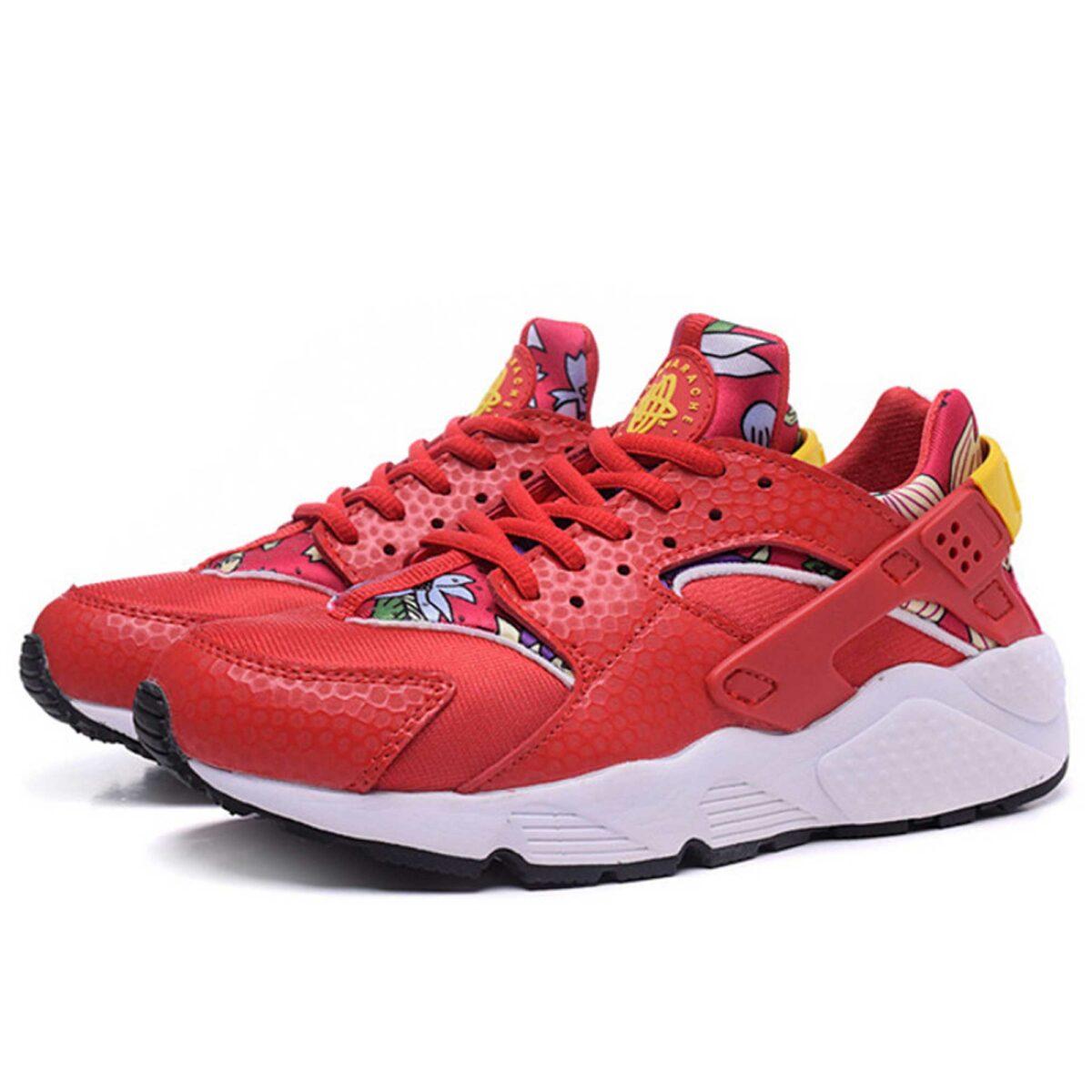 Интернет магазин купить оригинальные Nike Air Huarache University Red