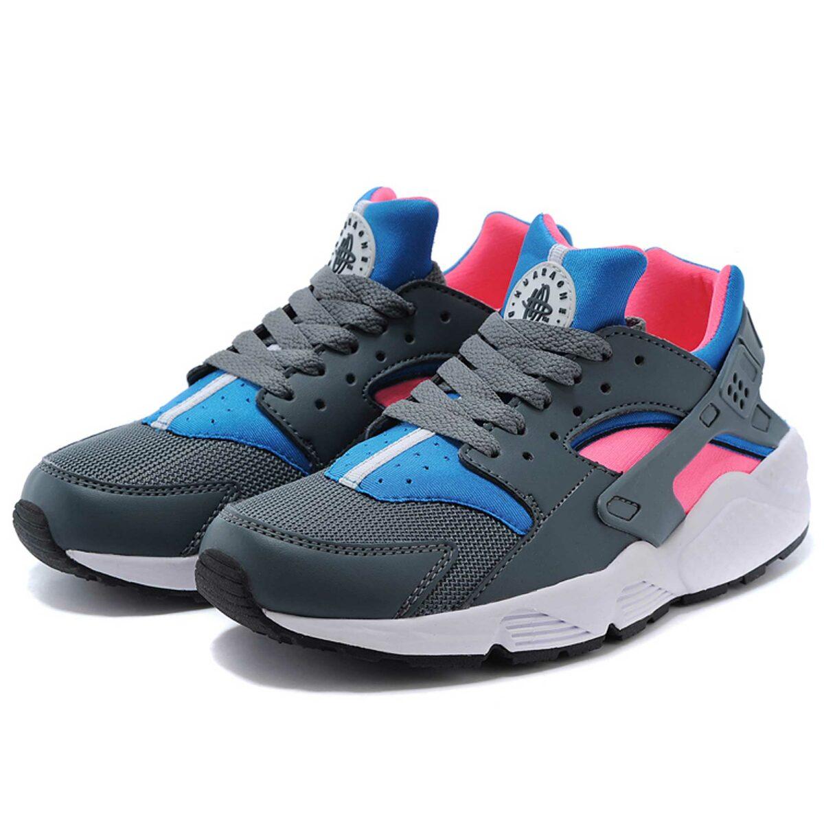 Интернет магазин купить оригинальные кроссовки Nike Air Huarache Grey Pink