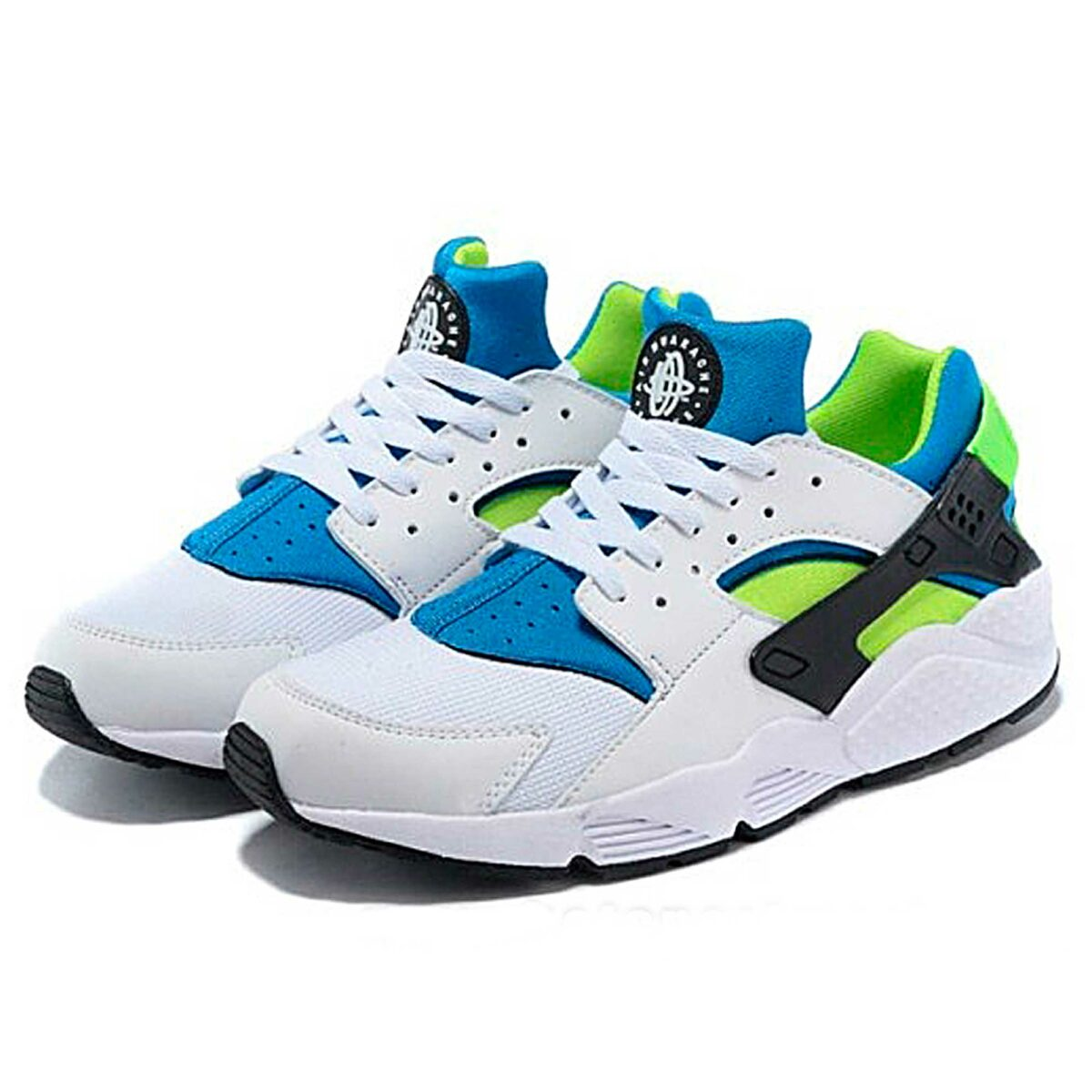 nike air huarache scream green 318429_100 купить