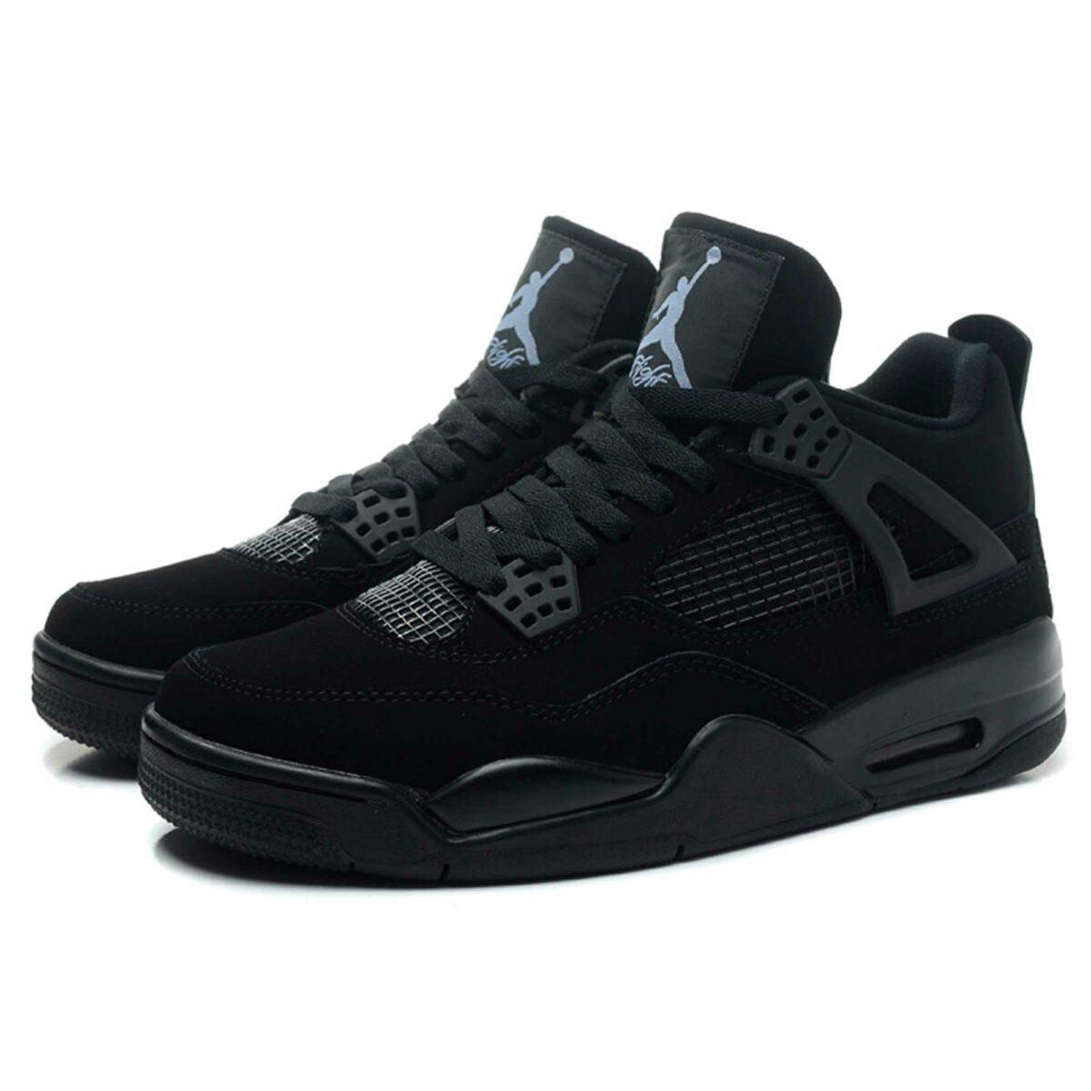 nike air jordan black cat 308497-002 купить