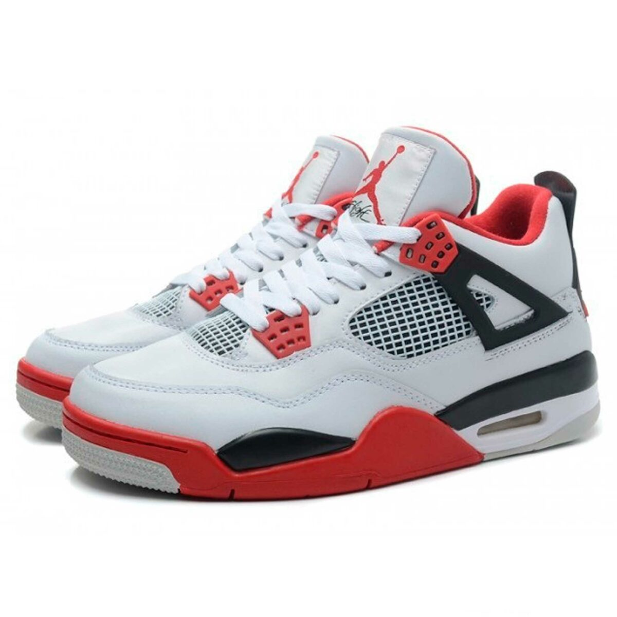 nike air jordan 4 retro fire red 408452-110 купить