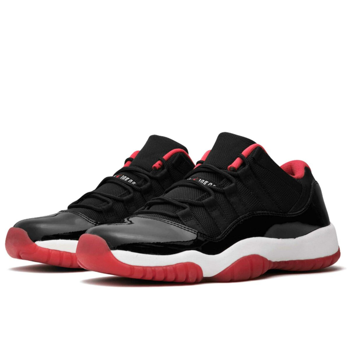 nike air Jordan 11 retro low bg black red 528896_012 купить