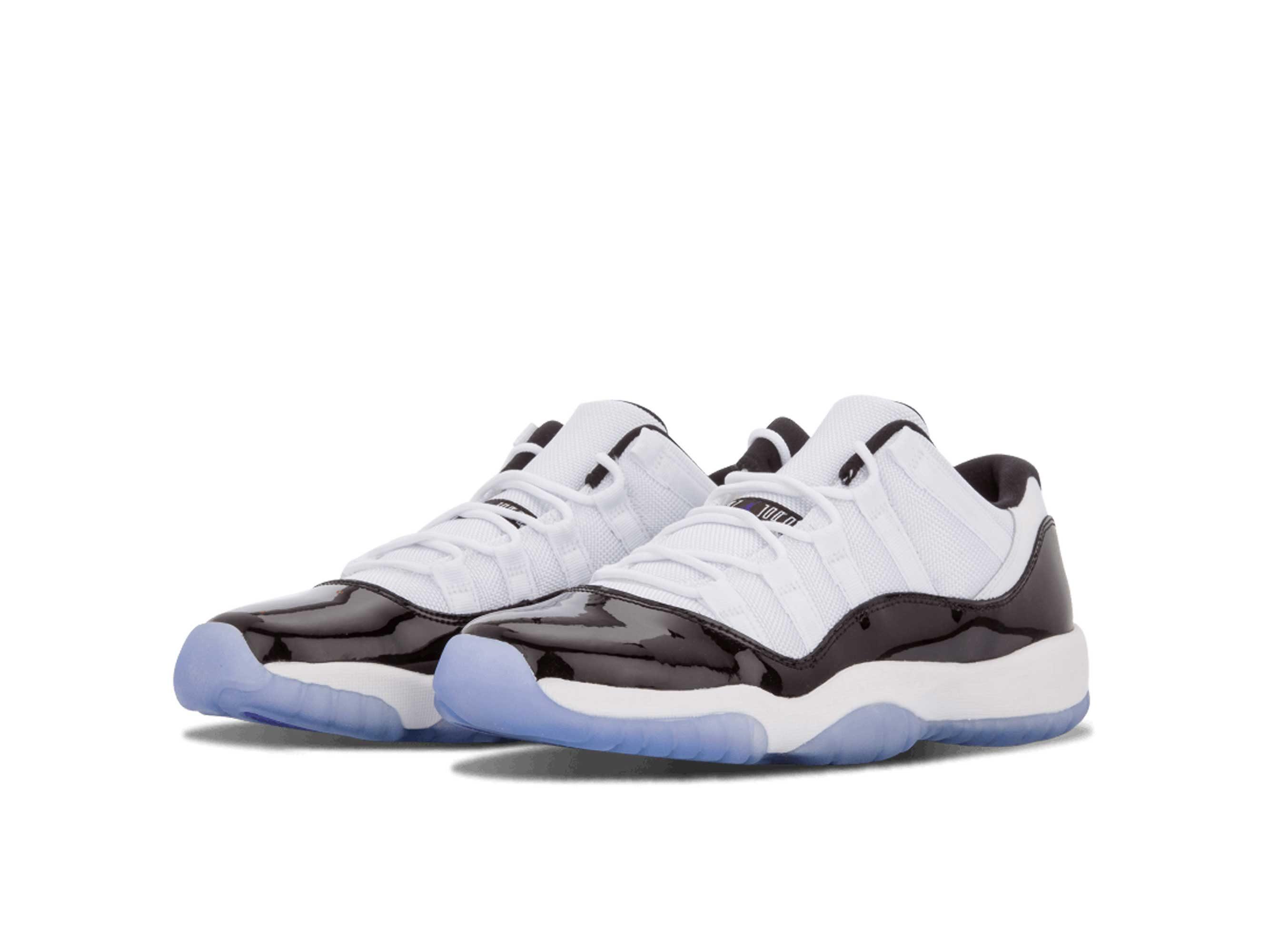 nike air Jordan 11 retro low bg black white 528896_153
