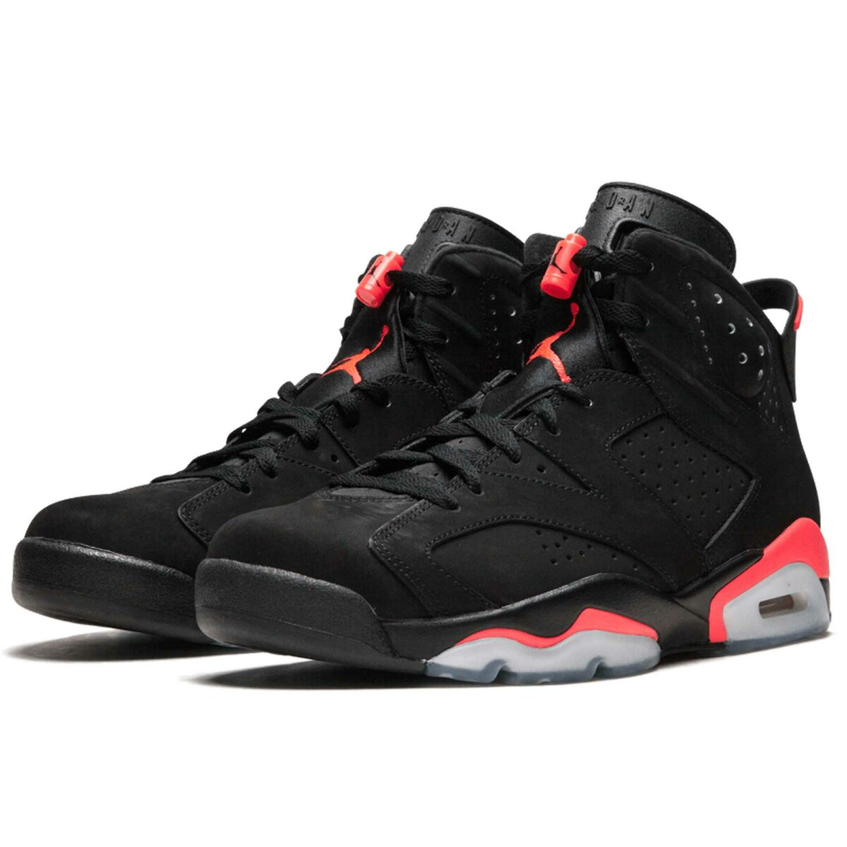 nike air jordan 6 retro black infared 384664_023 купить