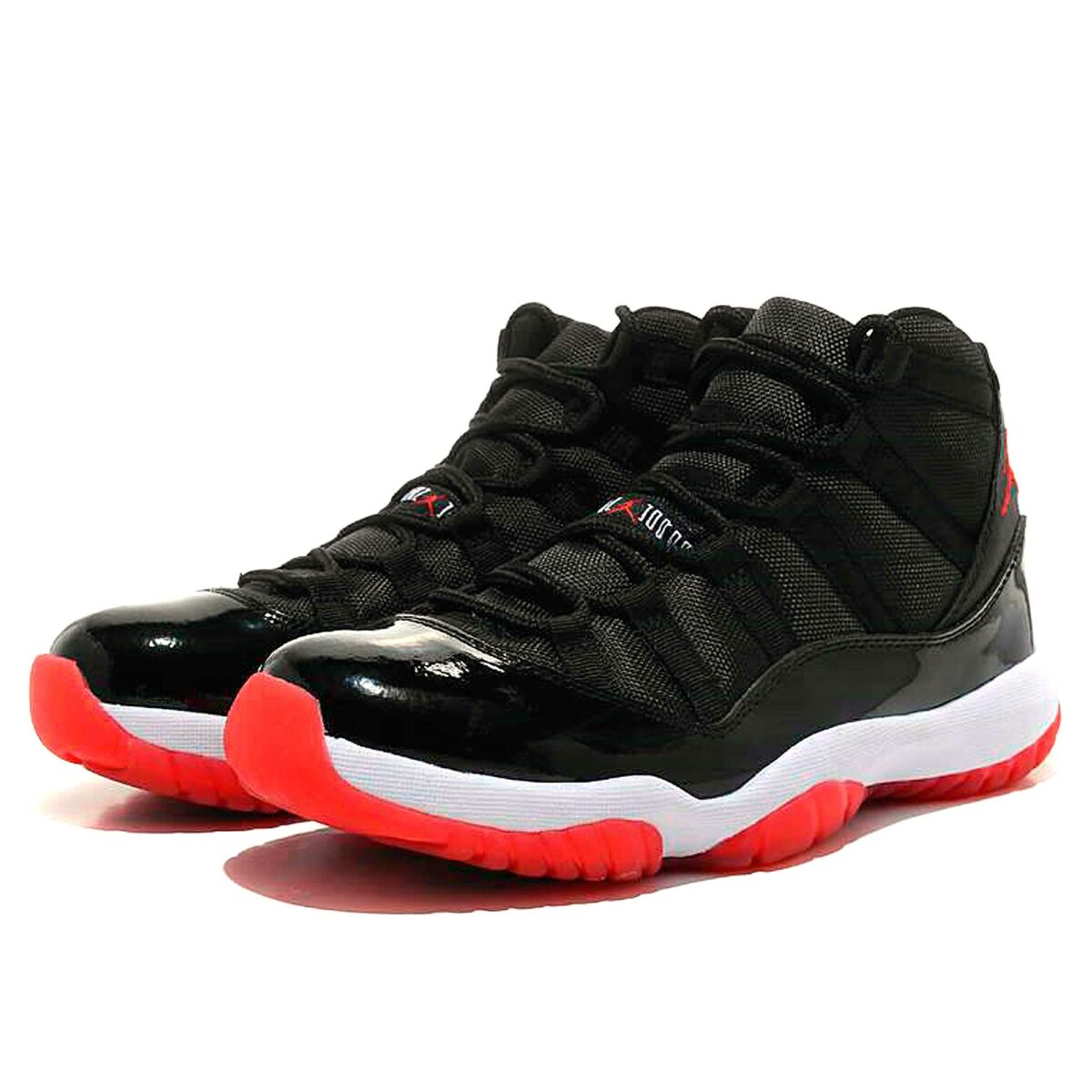 nike air Jordan 11 retro low bg black white 378038_010 купить
