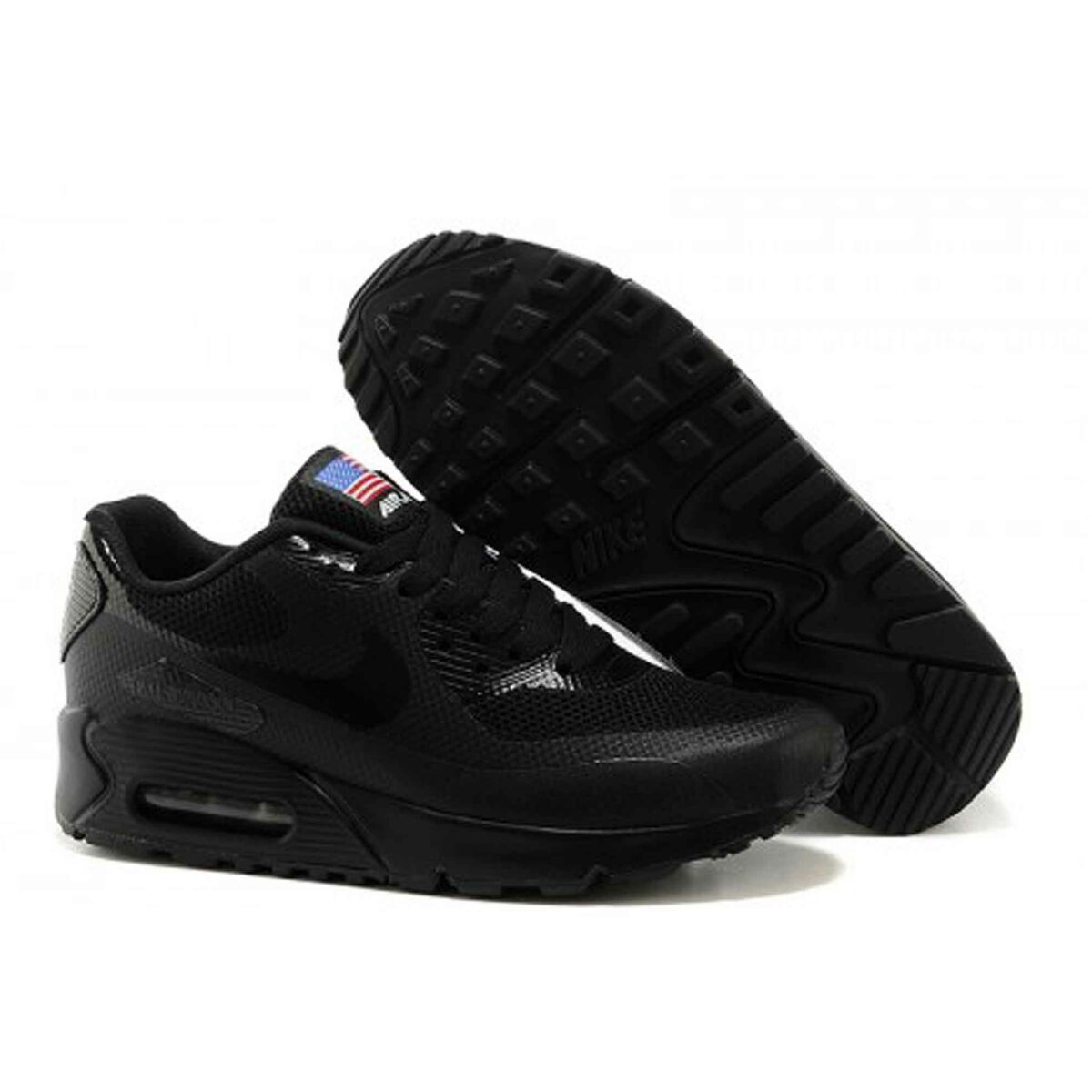 Купить Nike Air Max 90 Hyperfuse Independence Day 2013 Black