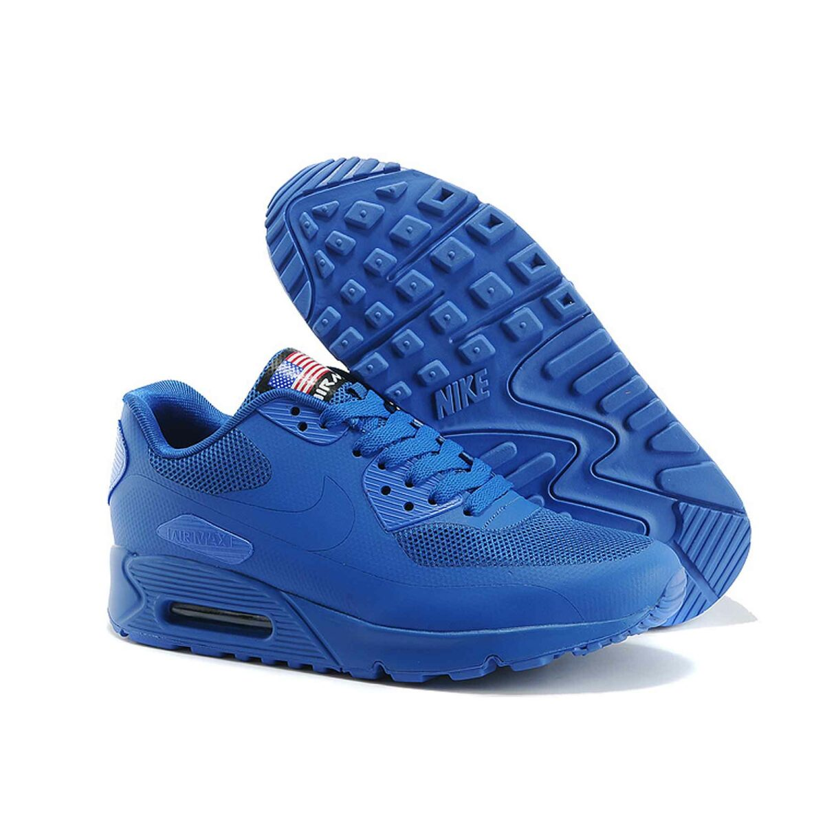 Купить Nike Air Max 90 Hyperfuse Independence Day 2013 Blue