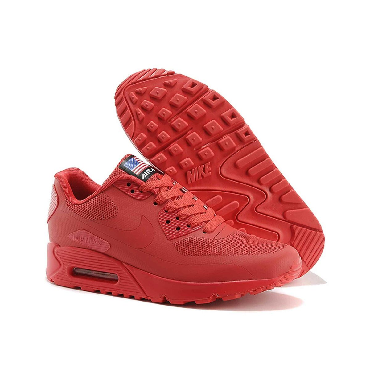 Купить Nike Air Max 90 Hyperfuse Independence Day 2013 Red