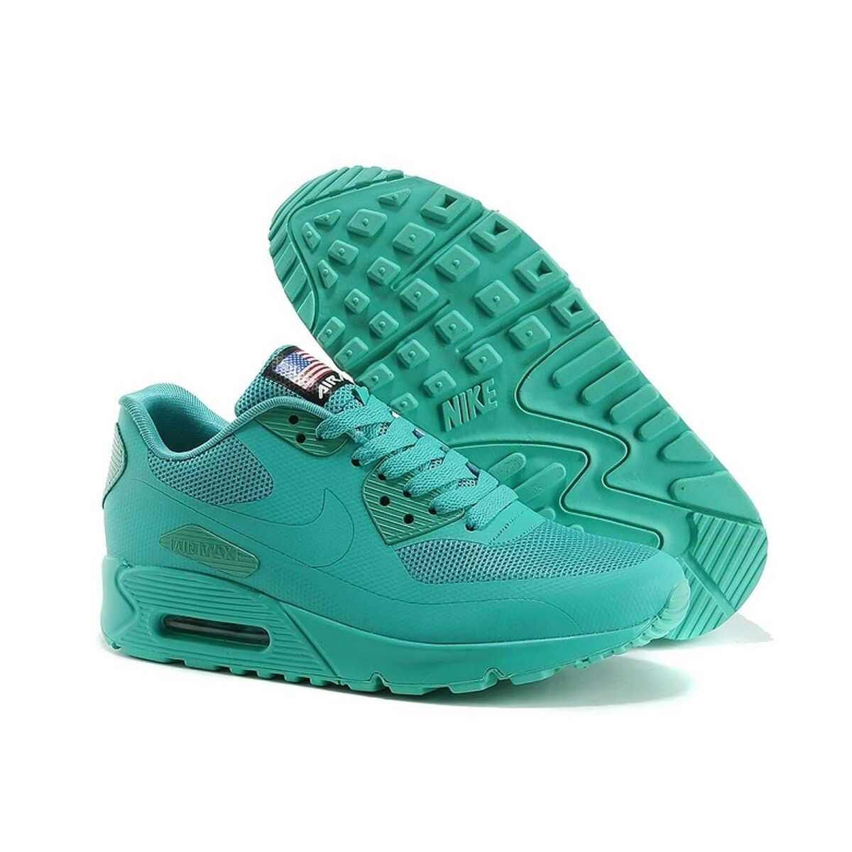 Купить Nike Air Max 90 Hyperfuse Independence Day 2013 Turquoise