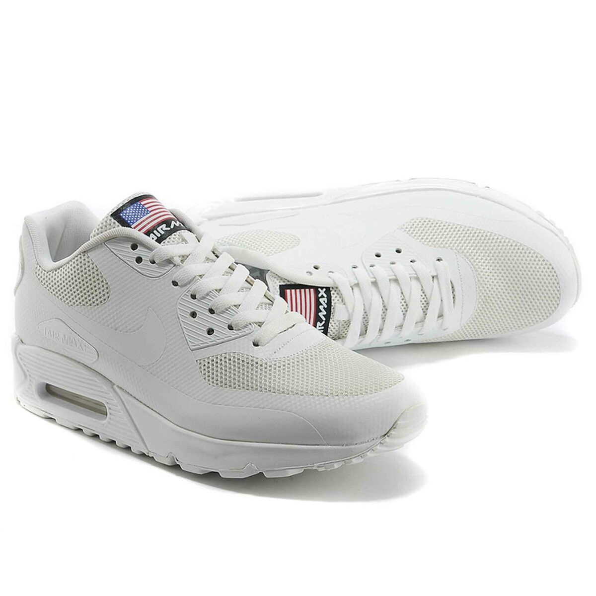 Купить Nike Air Max 90 Hyperfuse Independence Day 2013 White