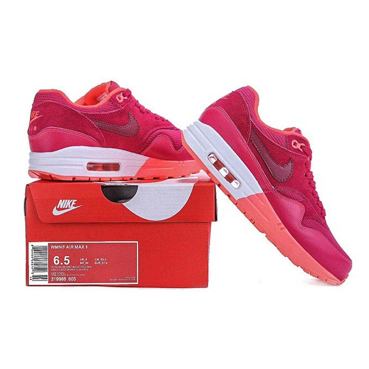 Интернет магазин Nike Air Max 1 87 Premium Deep Garnet