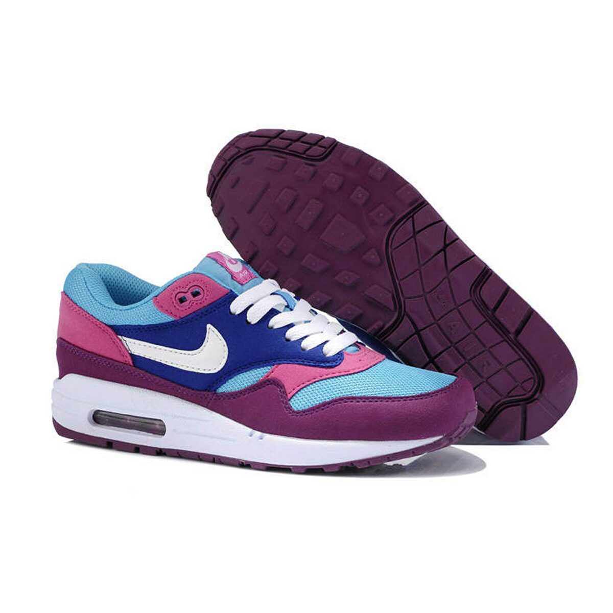 Интернет магазин Nike Air Max 1 87 Blue Pink Purple