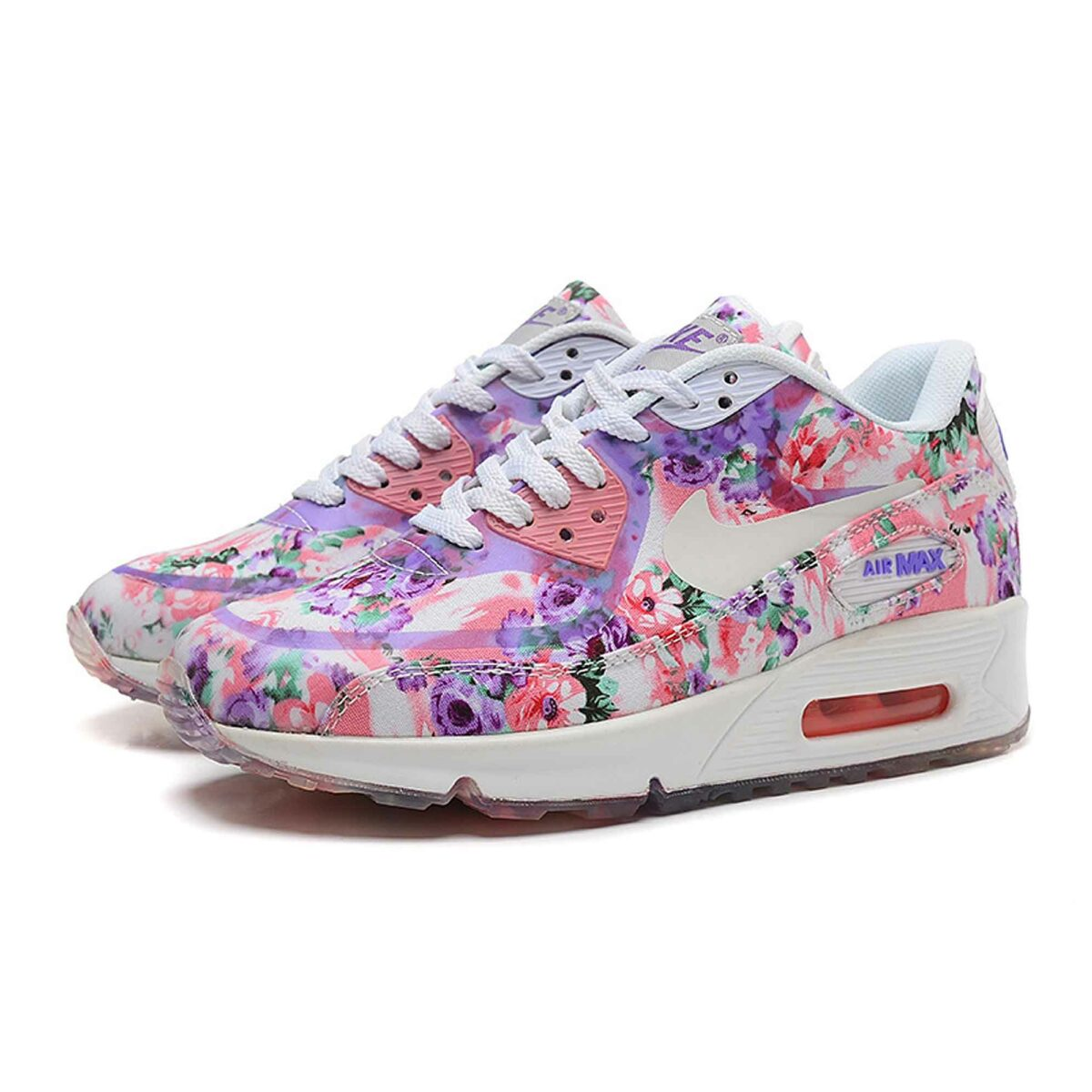 Купить Nike Air Max 90 Floral Purple Rose