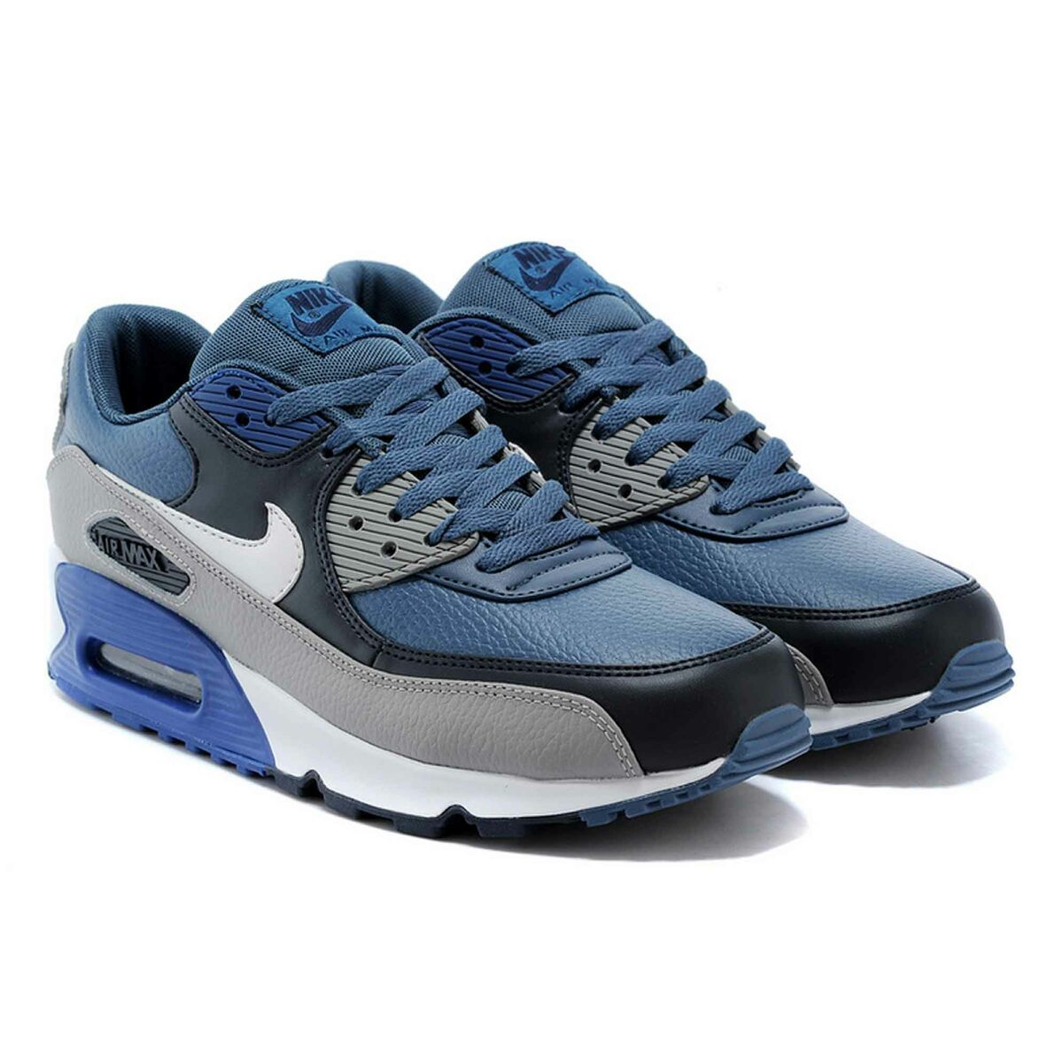 Купить Nike Air Max 90 LTR Blue Grey