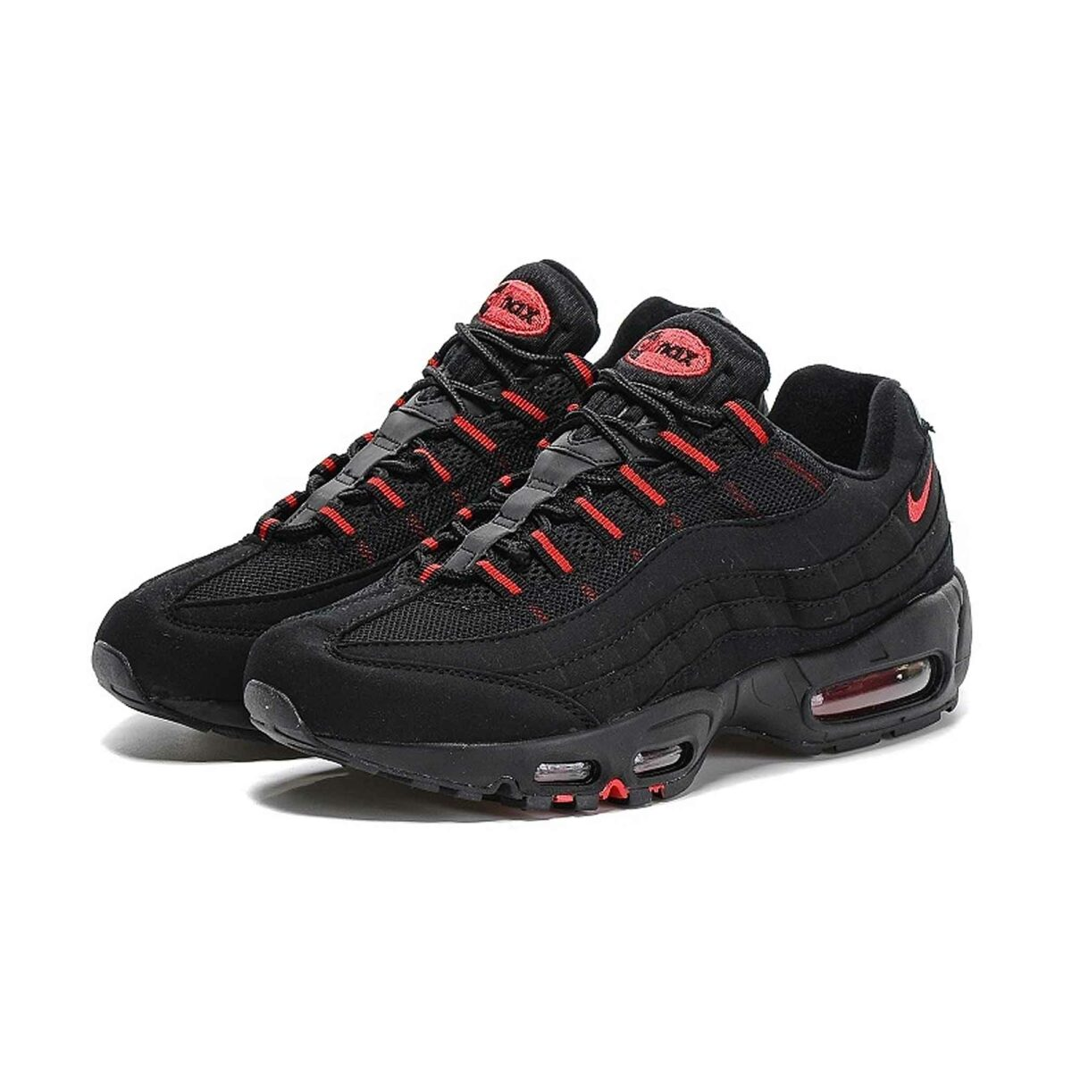 Купить Nike Air Max 95 Black Red 104220-006