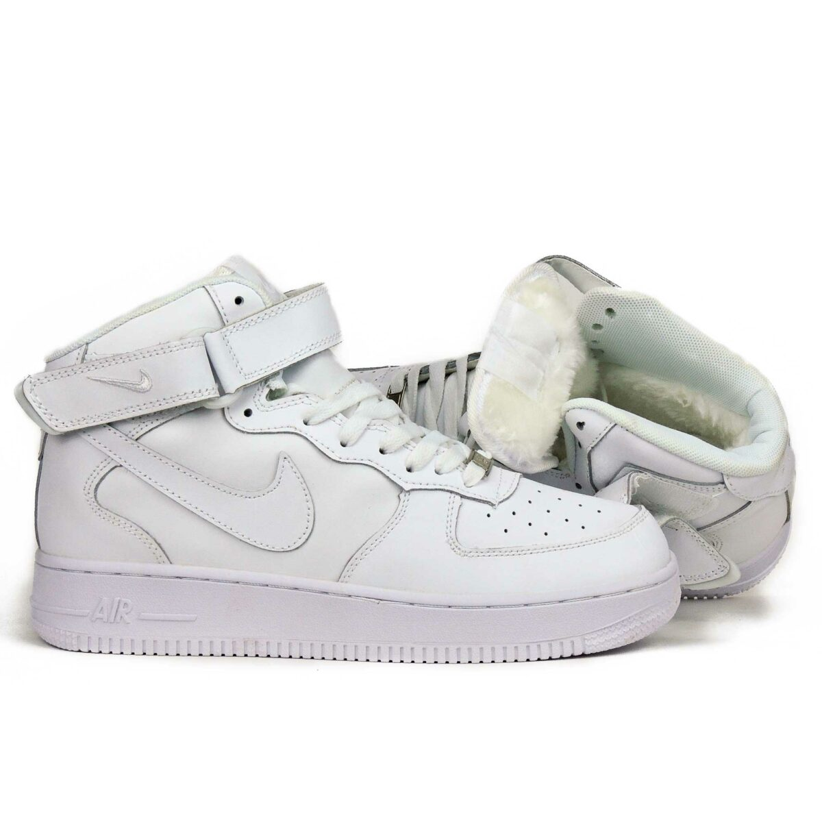 nike air force 1 white mid winter 334031_611 купить