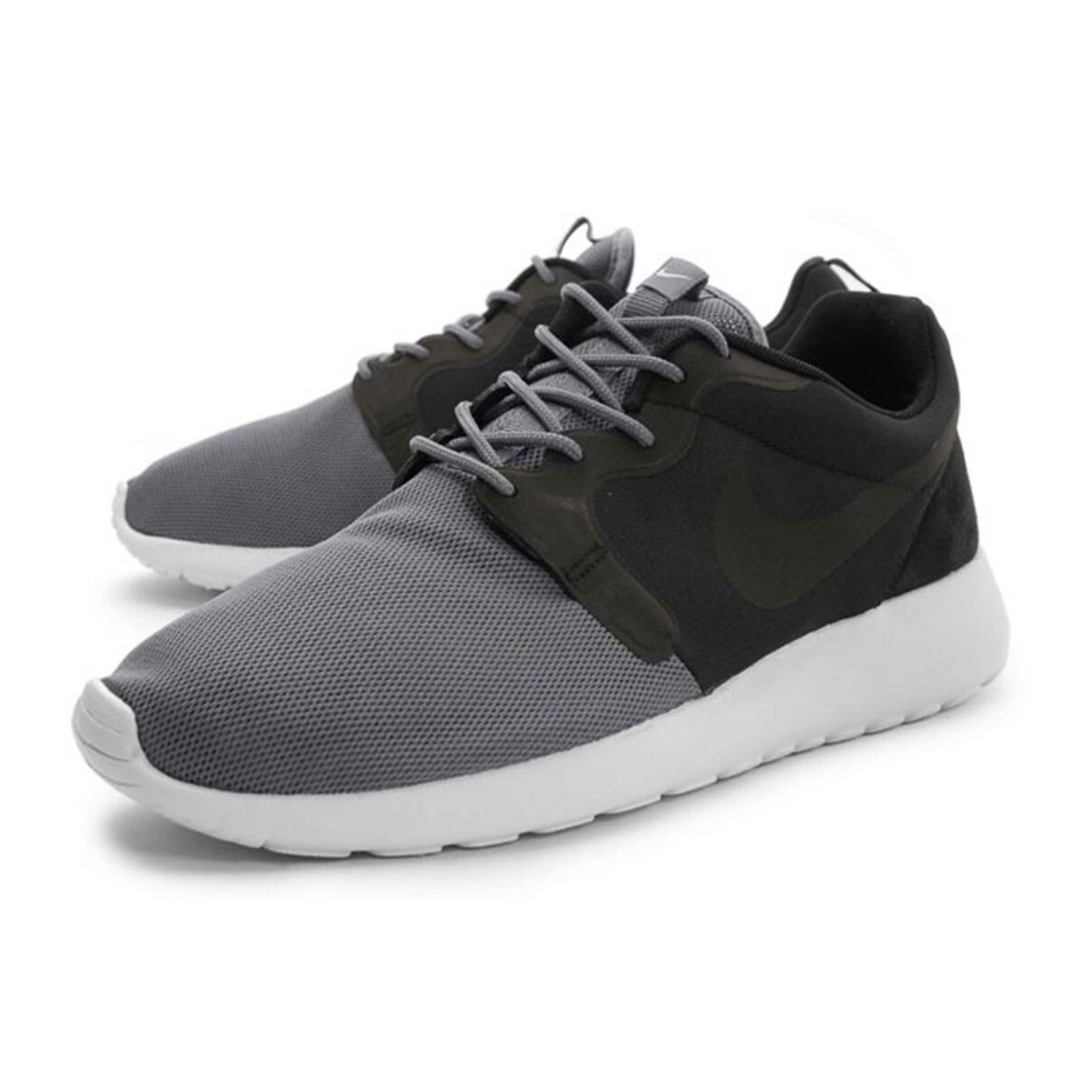 nike roshe run grey black 616325_001 купить