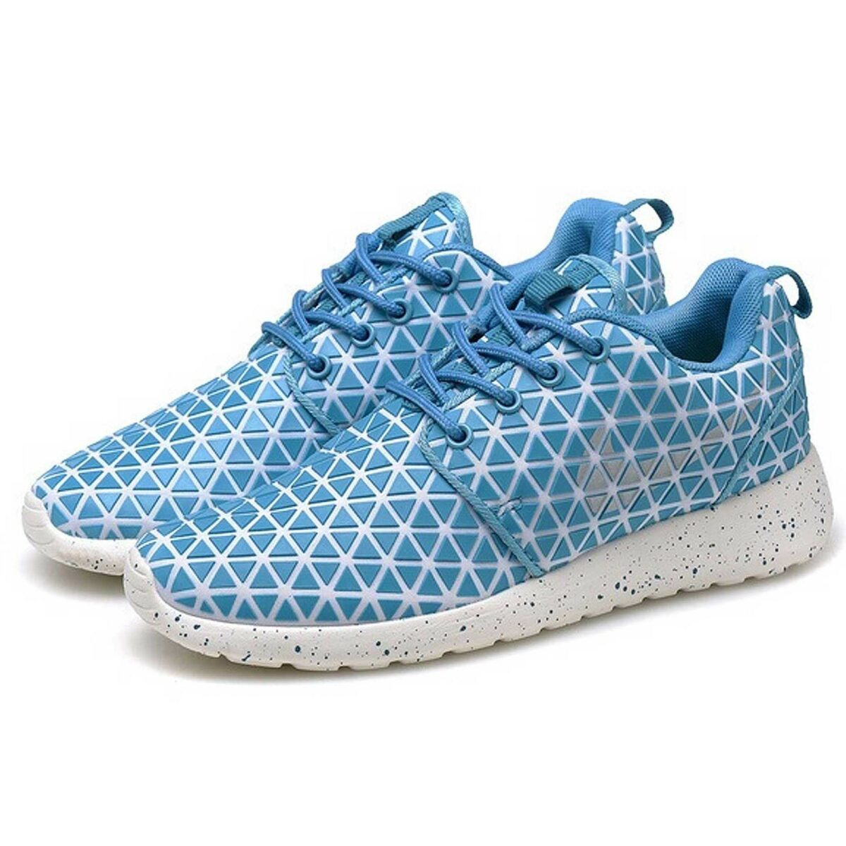 nike roshe run metric qs blue купить
