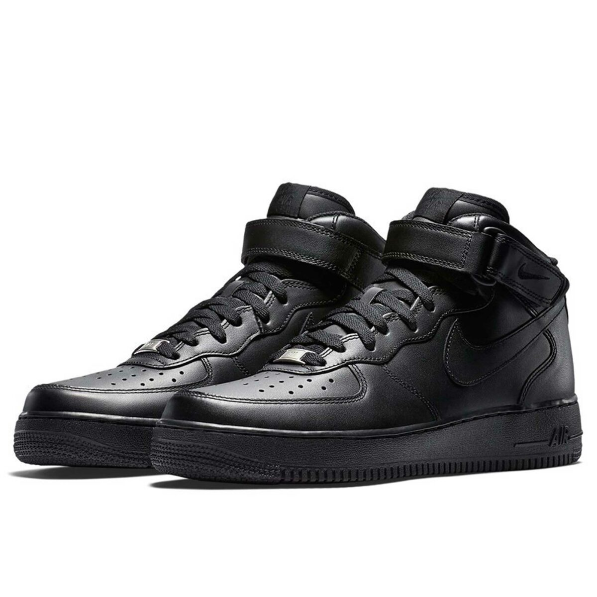 nike air force 1 mid black 315123-001 купить