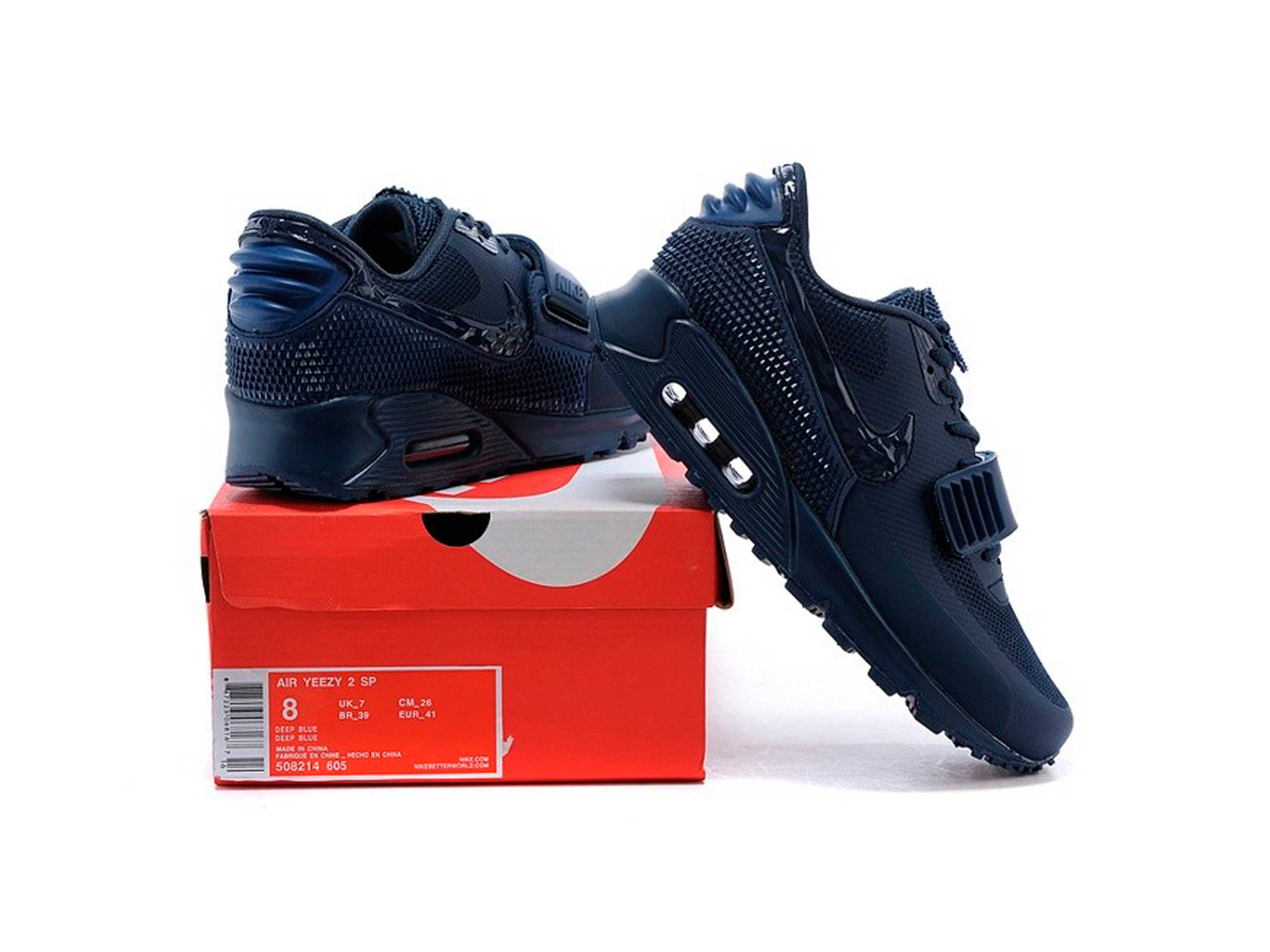 the latest c975d cdc26 nike air max 90 yeezy 2 SP by Kanye West dark blue