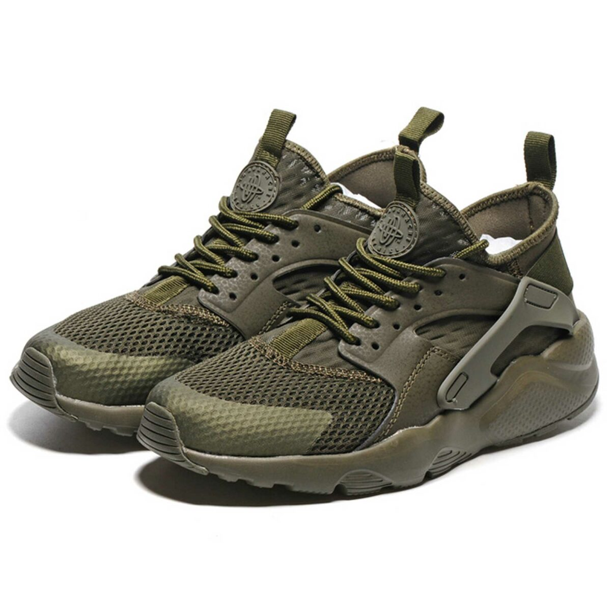 nike air huarache run ultra br olive 833147_200 купить