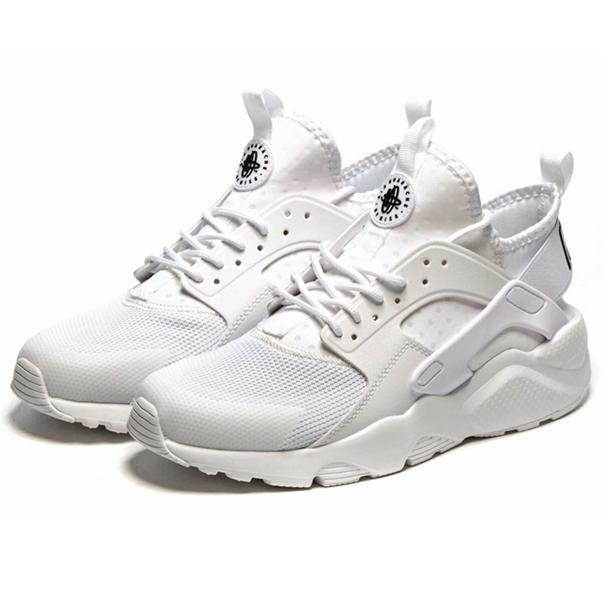 nike air huarache ultra br triple white 819685_101 купить