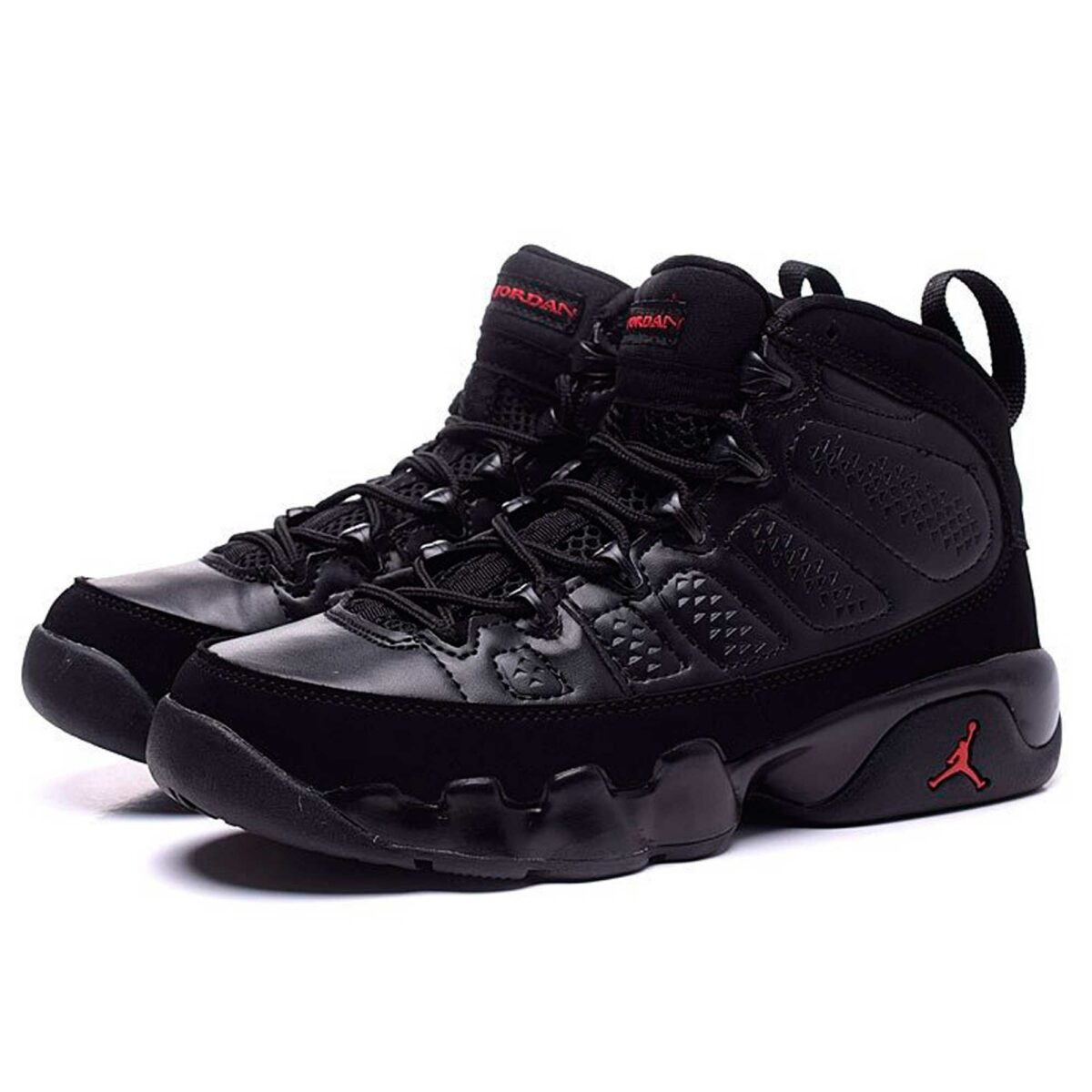 nike air Jordan 9 IX all black купить
