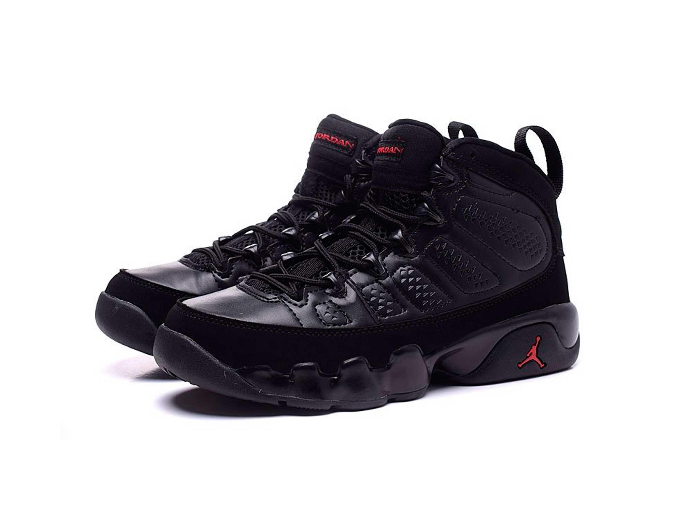 nike air Jordan 9 IX all black купить