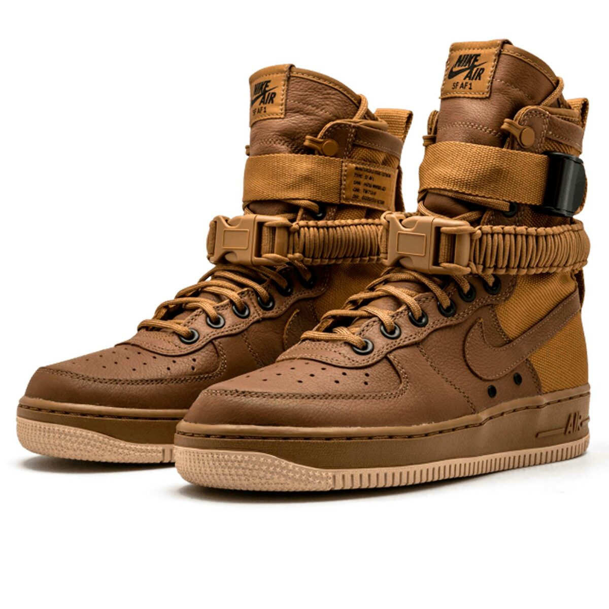 nike sf air force 1 golden beige 857872-200 купить