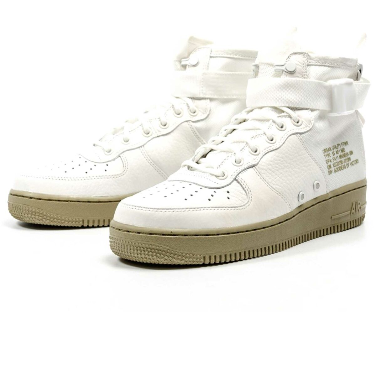 nike sf air force 1 mid ivory 917753-101 купить