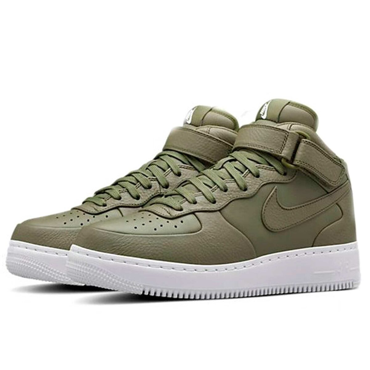 Nikelab Air Force 1 Mid Urban Haze White купить