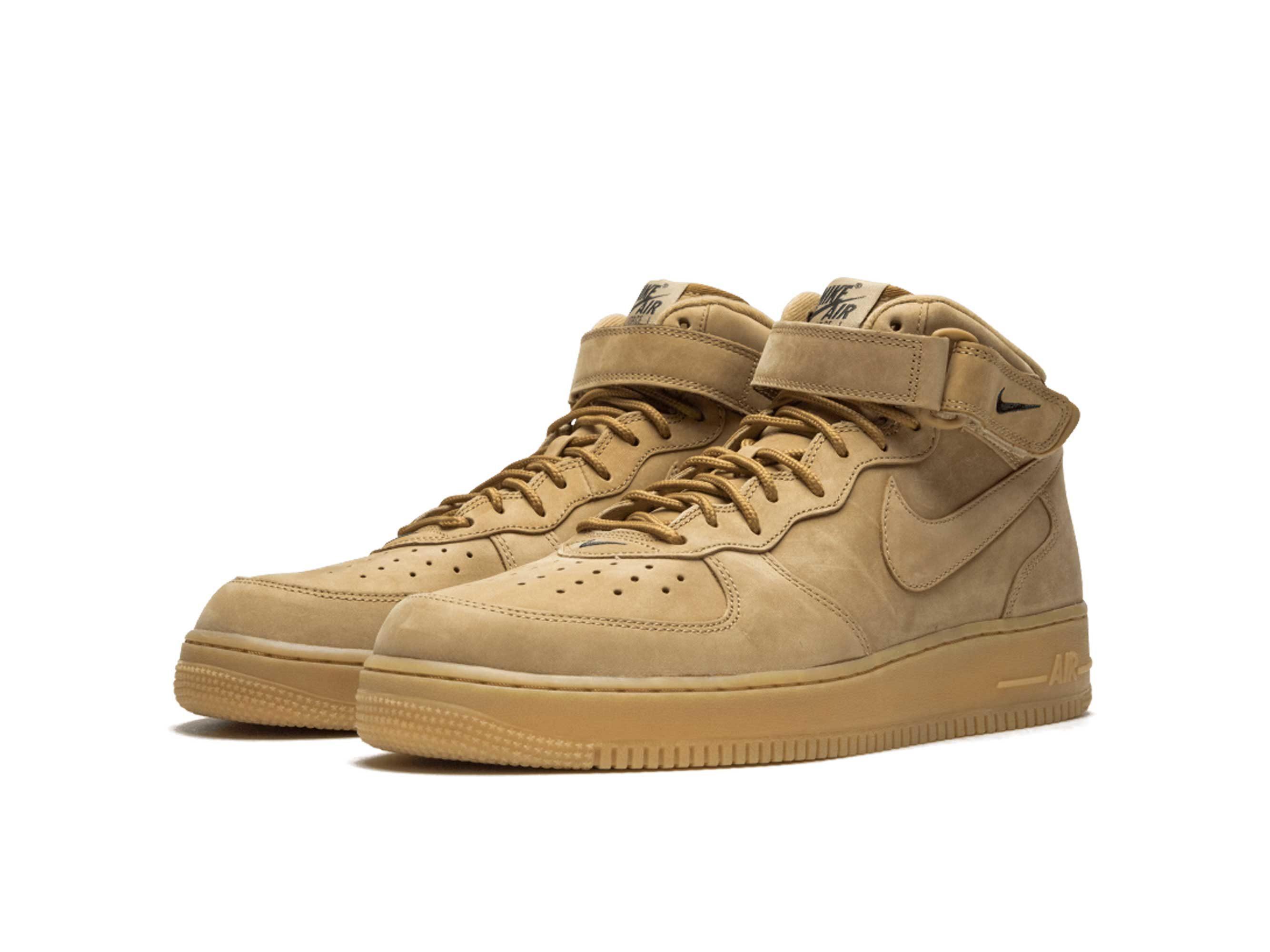 nike air force 1 mid flax 715889_200 купить