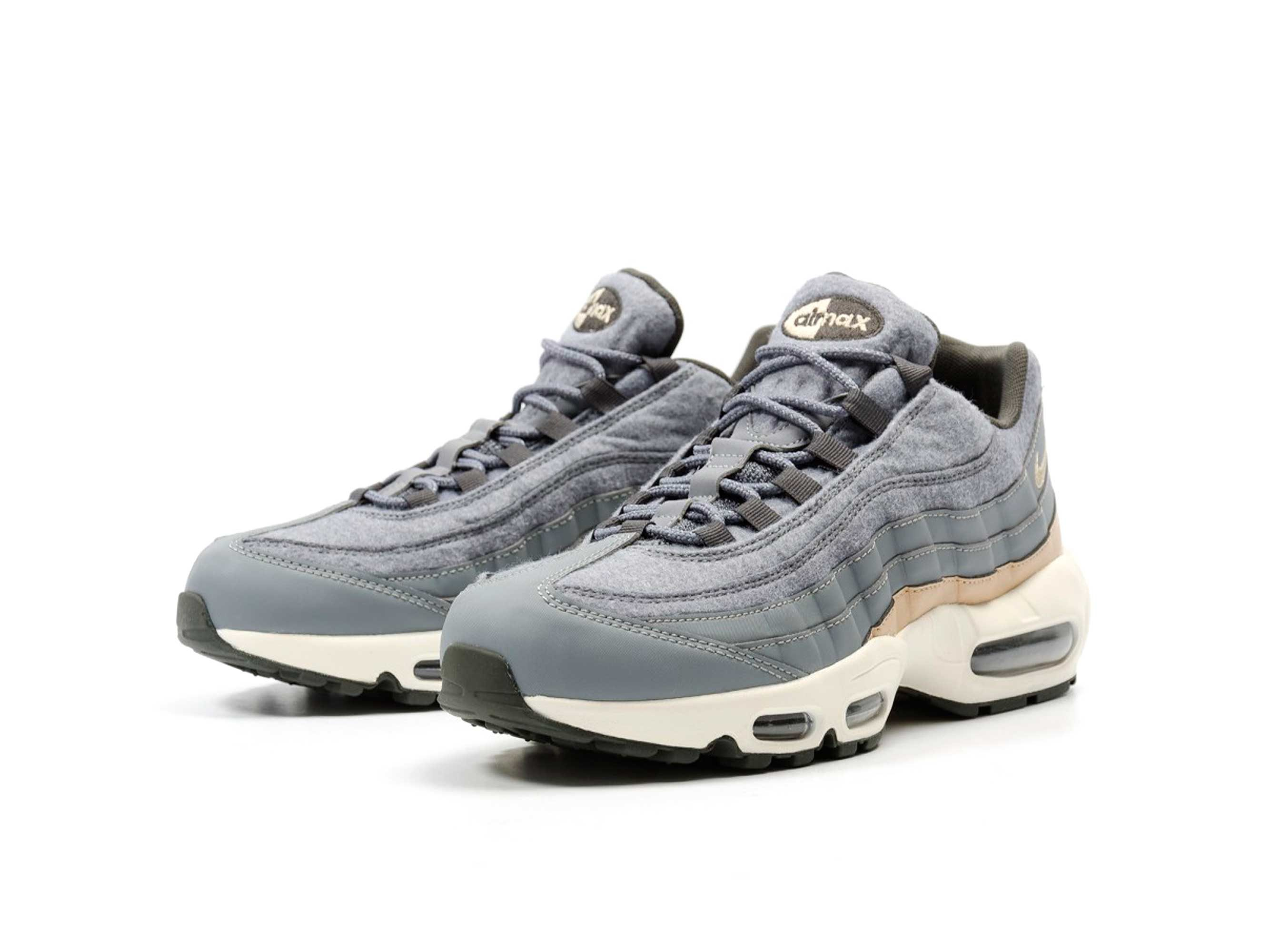 nike air max 95 premium cool grey 538416-009 купить
