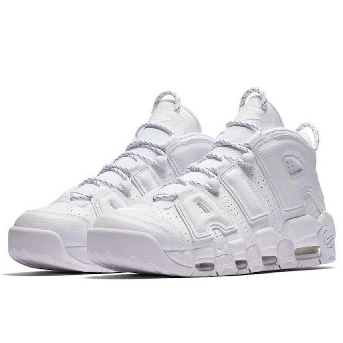 nike air more uptempo all white 921948-100 купить
