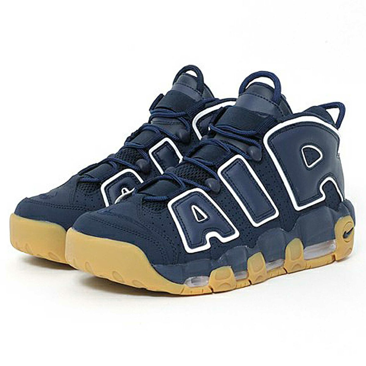 nike air more uptempo 96 obsidian white gum light brown 921948-400 купить