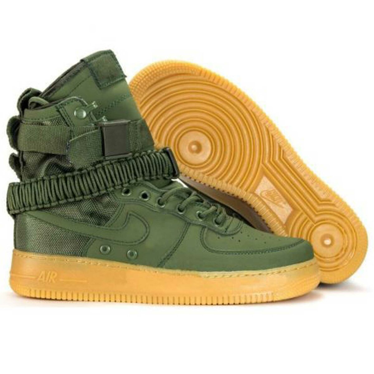 nike sf air force 1 faded green 859202_339 купить