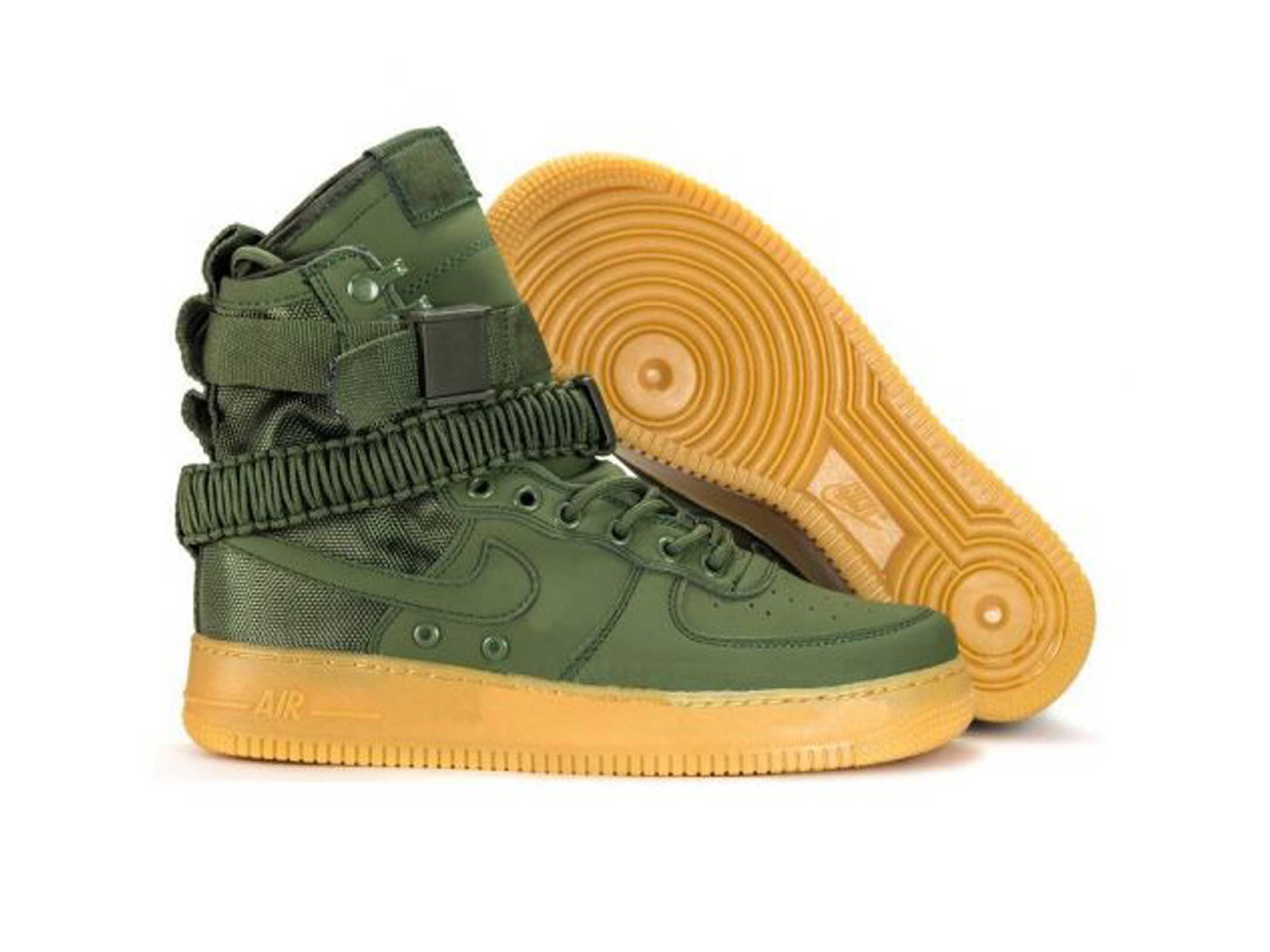 nike sf air force 1 faded green 859202_339 купить