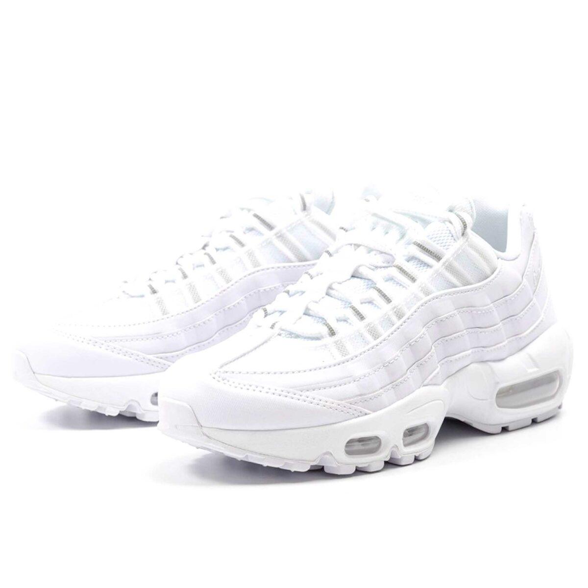 nike wmns air max 95 white 307960-106 купить
