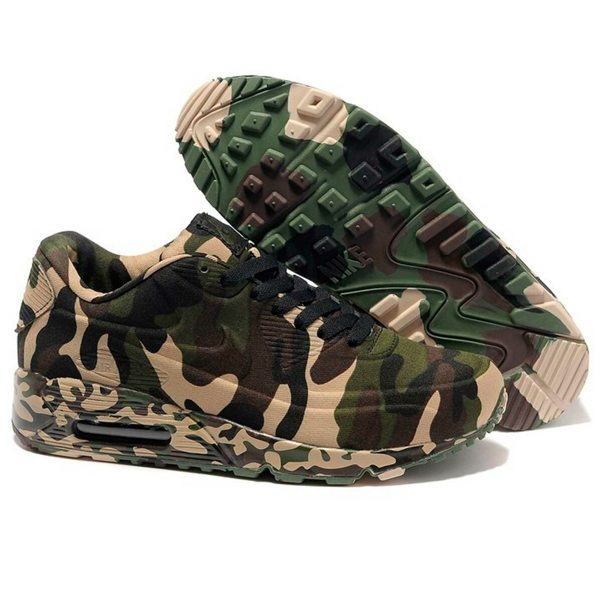 nike air max 90 VT camouflage army green 472513-008 купить