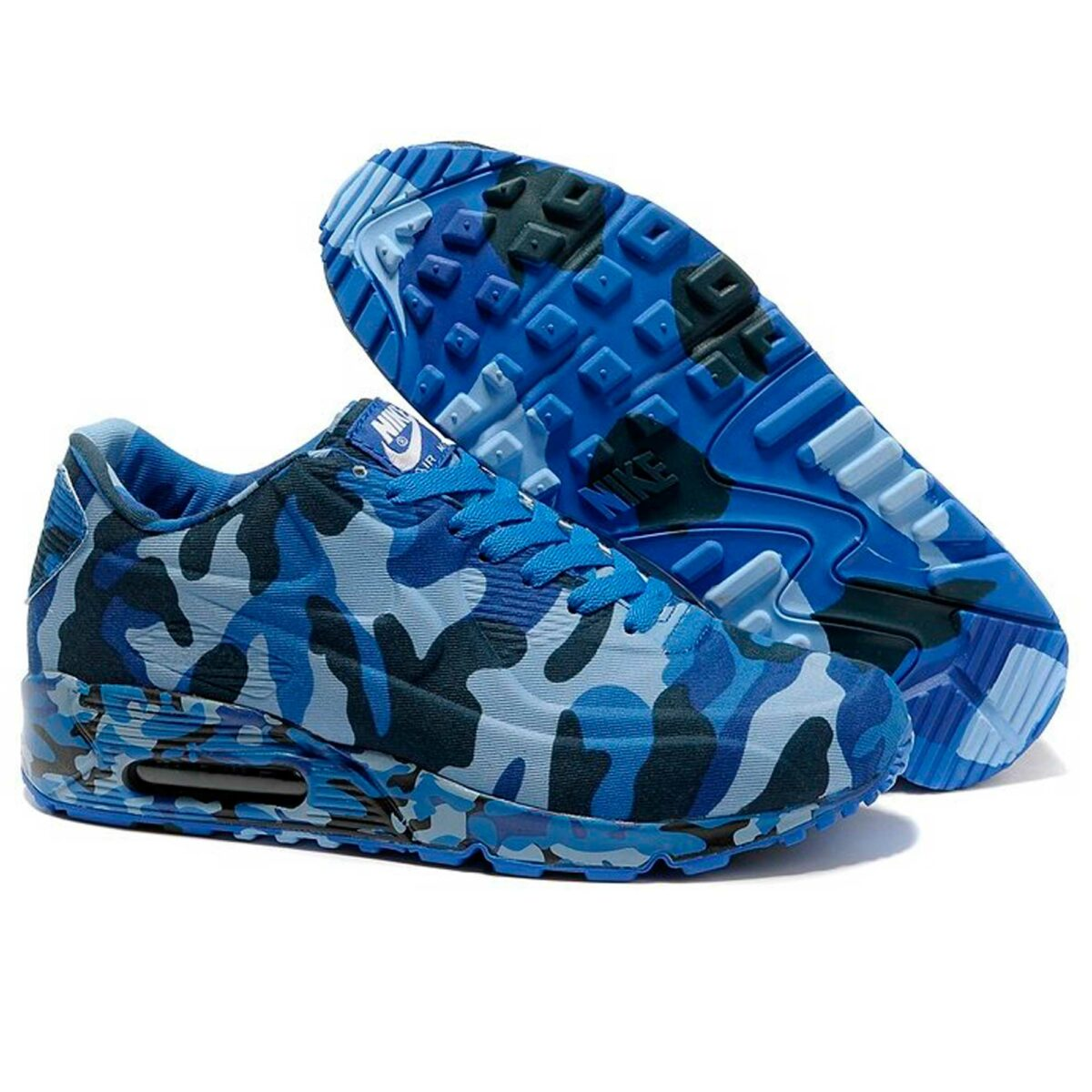nike air max 90 VT camouflage blue gray 472513-009 купить