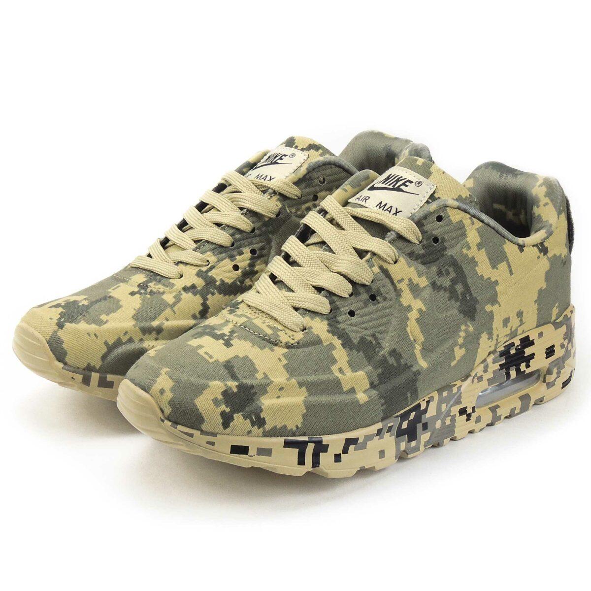 nike air max 90 VT camouflage green beige 486988_521 купить
