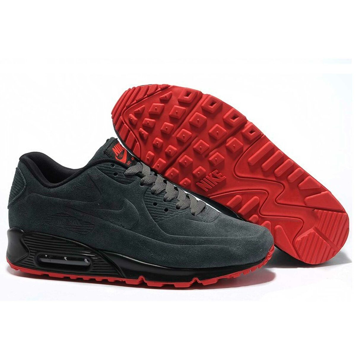 nike air max 90 VT grey red 472489-001 купить