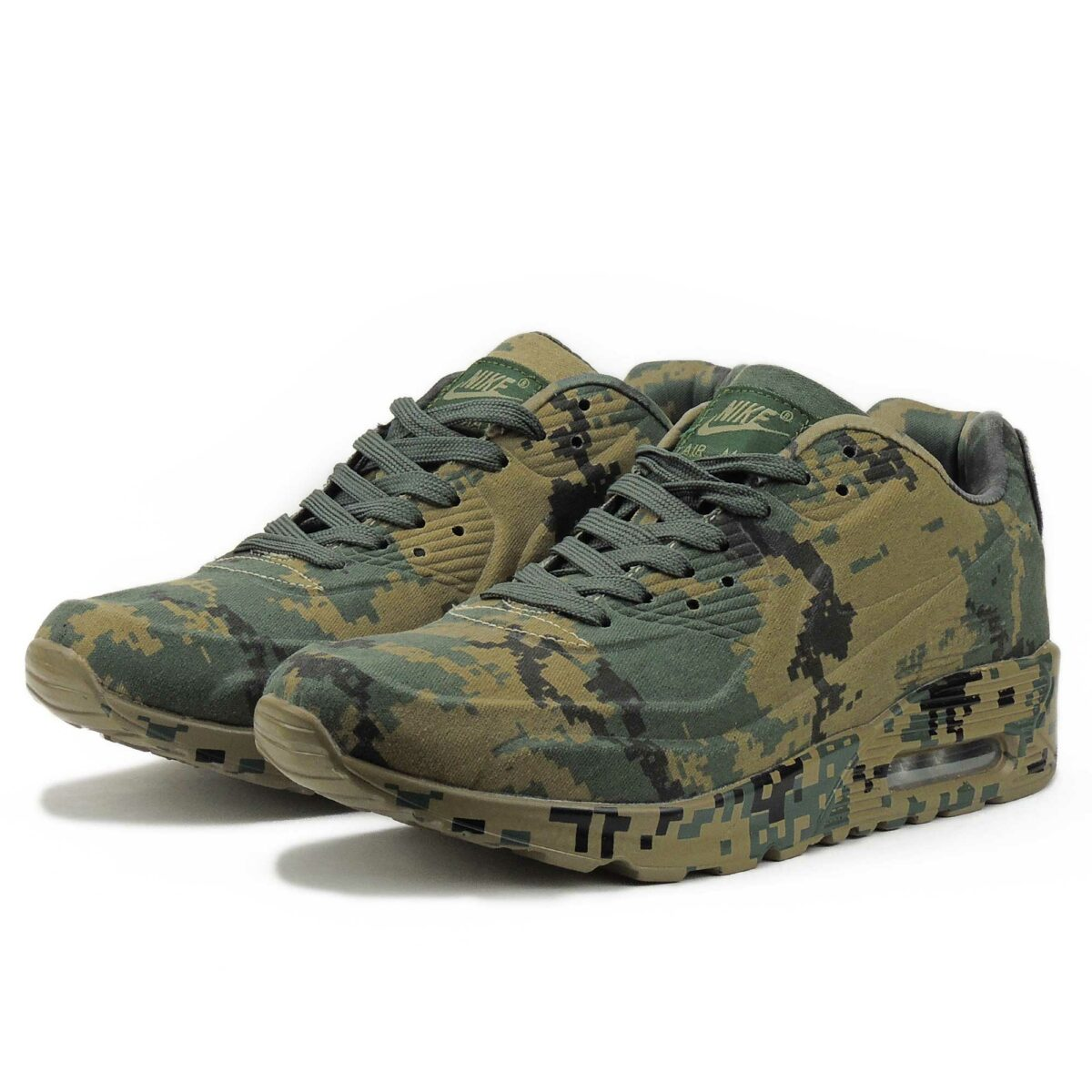nike air max 90 VT military camouflage brown picsel 486988_521 купить