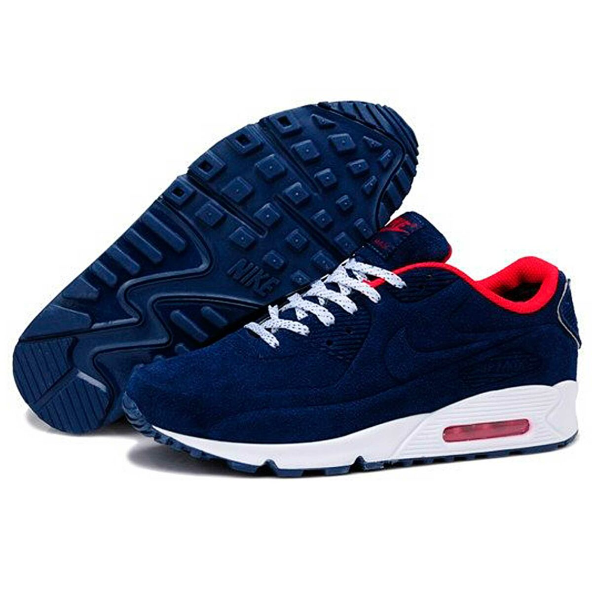 nike air max 90 vt dark blue winter купить