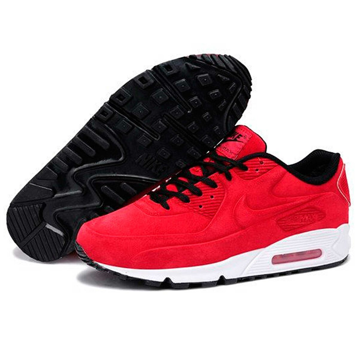 nike air max 90 vt red winter купить
