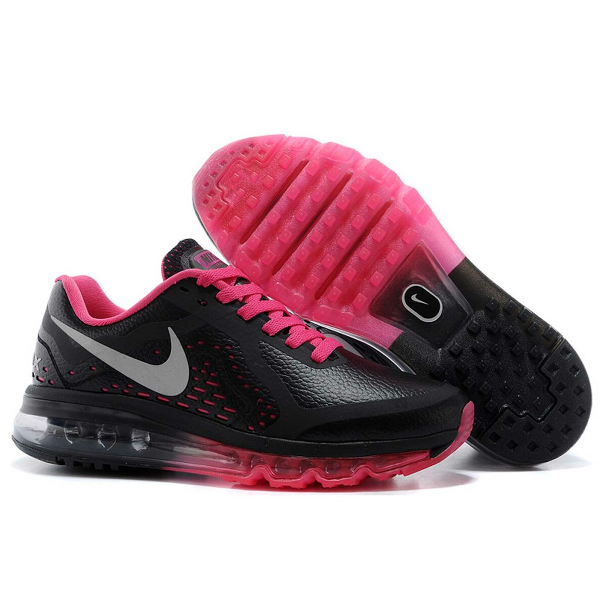 nike air max 2014 black crimson купить